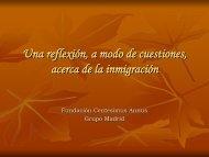 Veinte cuestiones acerca de la inmigración