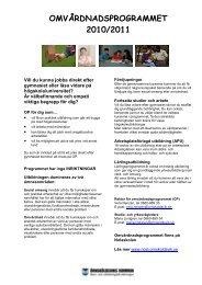 Informationsblad om programmet - Nolaskolan