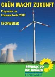 kinder- und jugendfreundliches eschweiler - Bündnis 90/Die Grünen ...