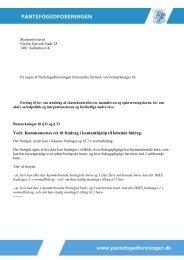 Høringssvar fra Pantefogedforeningen i pdf-format - Skatteministeriet