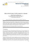 Effect of SiO 2 Overlayer on WO3 Sensitivity to Ammonia - Page 6