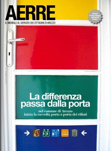 La differenza passa dalla porta - Comune di Arezzo
