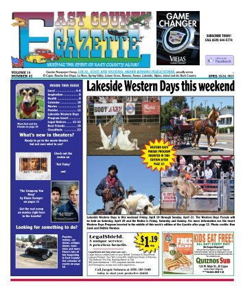 18 - East County Gazette