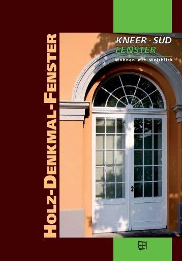 Broschüre | Holz-Denkmal-Fenster - Kneer GmbH