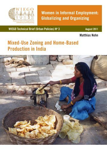 Mixed-Use Zoning and Home-Based Production in India - WIEGO