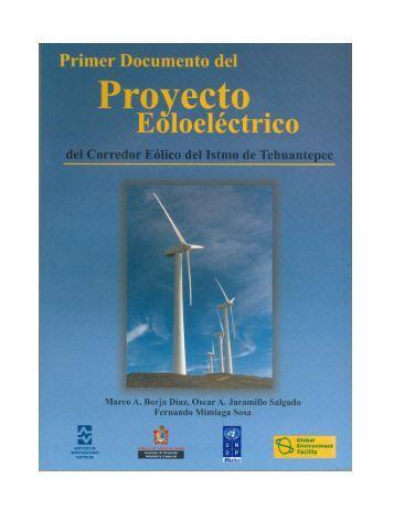 Primer Documento del Proyecto Eoloeléctrico del Corredor - C.I.E. ...