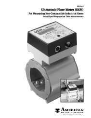 Ultrasonic-Flow Meter (USM) - Gaines Measurement and Control