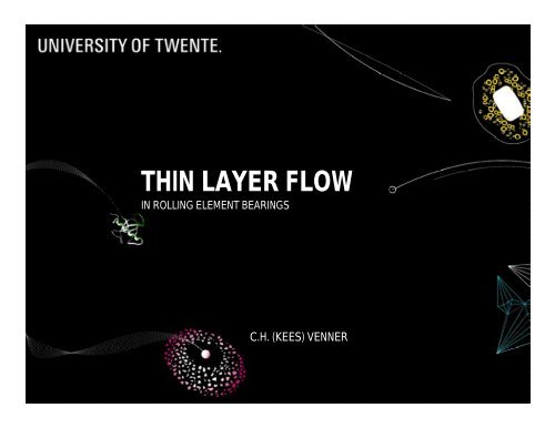 thin layer flow - Engineering Fluid Dynamics / Multi Scale
