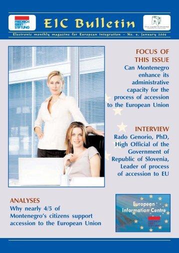 EIC Bulletin No. 4