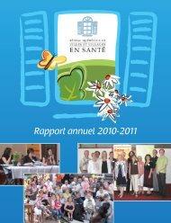 Rapport annuel 2010-2011 - Réseau québécois des villes et ...