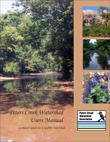 Peters Creek Watershed Users Manual - Water Resources ...