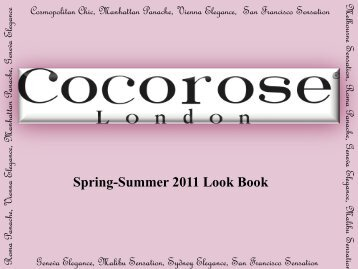 Spring-Summer 2011 Look Book - Runway Showroom