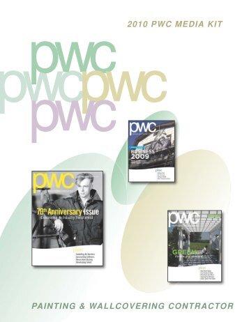 2010 PWC MEDIA KIT PAINTING & WALLCOVERING ... - PaintSquare