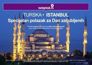 TURSKA • ISTANBUL - Wayout