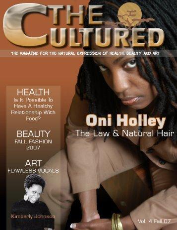 The Culture Magazine - Cultured Naturals