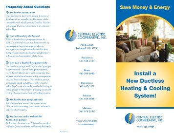 Install a New Ductless Heating & Cooling System!