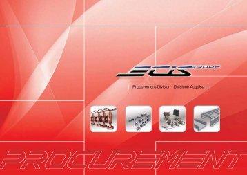 Procurement Division - Divisione Acquisti - Ecisgroup