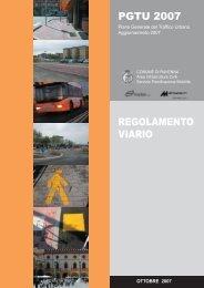 PGTU 2007 REGOLAMENTO VIARIO - Comune di Ravenna