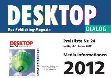 2012 - Desktop Dialog