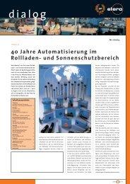 dialog 2_2004 - elero Antriebstechnik