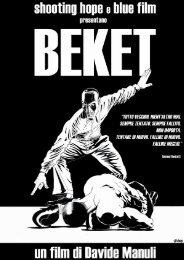 Press book Beket inglese - Festival del film Locarno