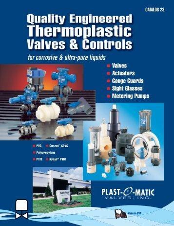 Digest 23 - Plast-O-Matic Valves, Inc
