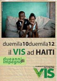 Senza titolo-1.indd - VIS - Volontariato Internazionale per lo Sviluppo