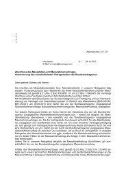 Schreiben zur Anerkennung des standardisierten ... - Eneregio