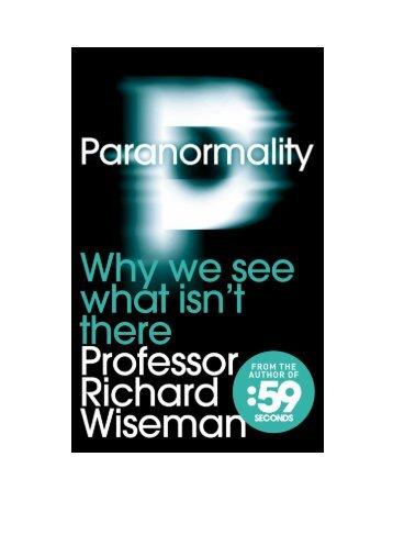 introduction - Richard Wiseman