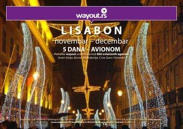 L I S A B O N - Wayout
