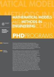 PHDPROGRAMS - Dottorato di Ricerca - Politecnico di Milano