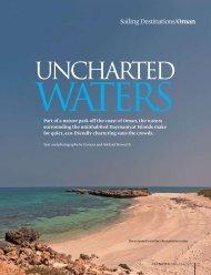 Sailing Destinations/Oman - Frances & Michael Howorth