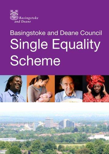 Single equality Scheme - Basingstoke and Deane Borough Council