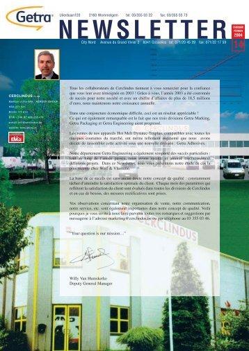 Getra Newsletter 14 - van aerden group