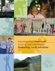 Housing Assistance Council Annual Report, 2009