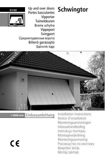 Schwingtor - Normstahl