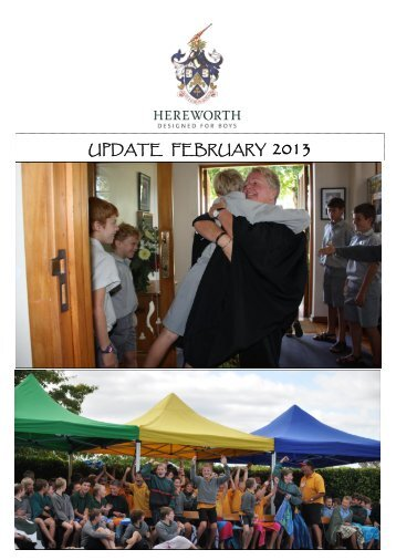 UPDATE FEBRUARY 2013 - Hereworth School