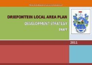 driefontein local area plan development strategy - Emnambithi ...