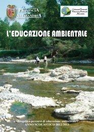 L'EDUCAZIONE AMBIENTALE - Portale Ambiente della Provincia di ...