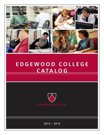 EdgEwood CollEgE CATAlog - Edgewood Express