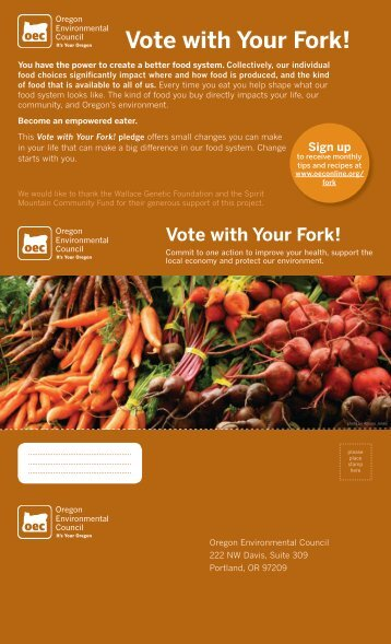 Vote with Your Fork! - Show Your Impact