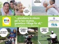 Intervento Village for all - GuidaViaggi