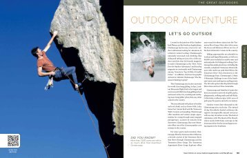 OUTDOOR ADVENTURE - Chattanooga Area Chamber of Commerce