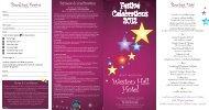 Festive Celebrations 2012 Weston Hall Hotel