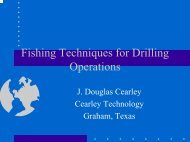 Fishing Techniques for Drilling Operations