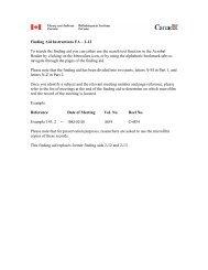 RG-2 : Cabinet War Committee / Comité de la guerre du Cabinet
