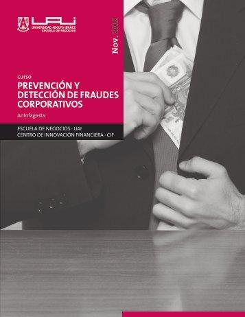 prevención y detección de fraudes corporativos - Universidad Adolfo ...