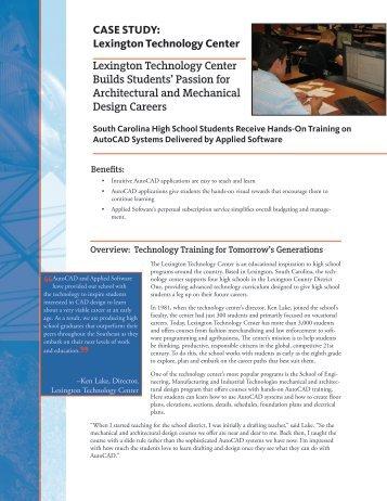 CASE STUDY: Lexington Technology Center ... - Applied Software