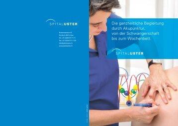 geburtsvorbereitende Akupunktur - Spital Uster