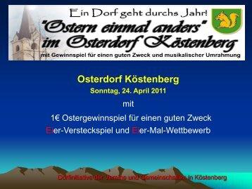 Osterdorf Köstenberg - Velden